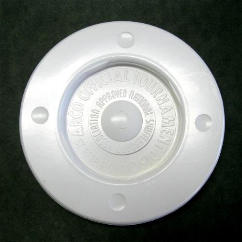 11-169 - white shuffleboard disc