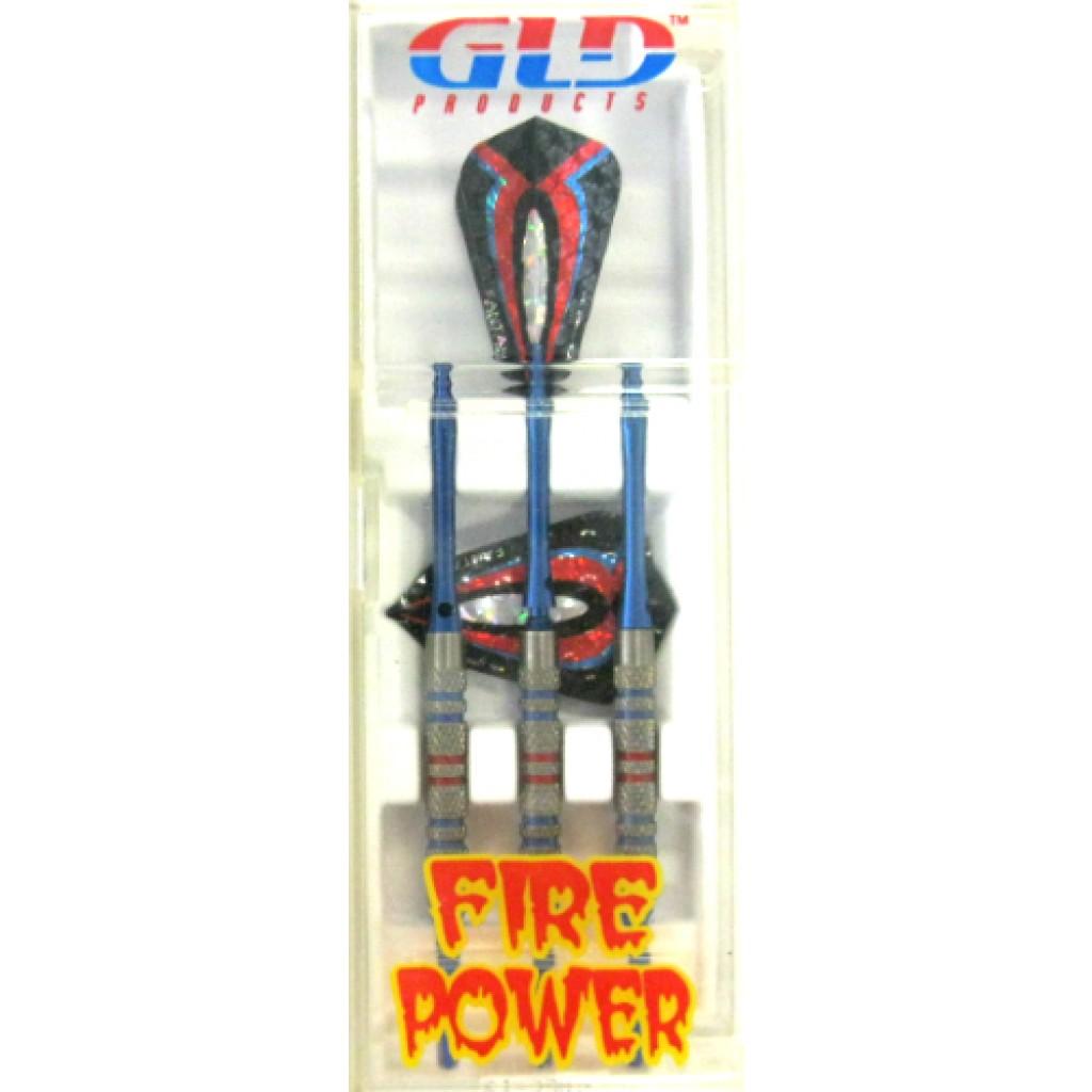 12-338 - Firepower Soft Tip Darts - Blue - 16g