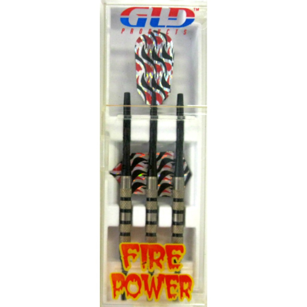 12-341 - Firepower Soft Tip Darts - Black - 16g