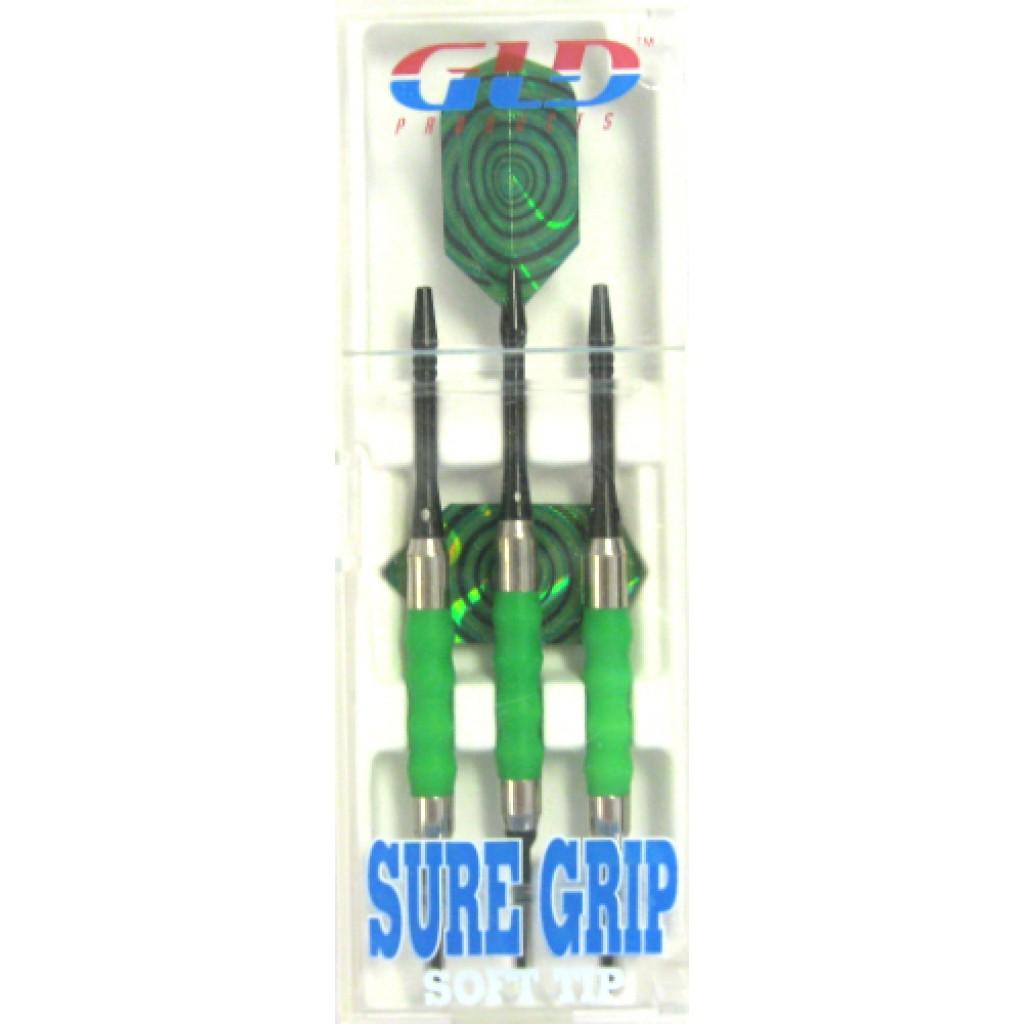 12-453 - Sure Grip Soft Tip Dart - 16g Green