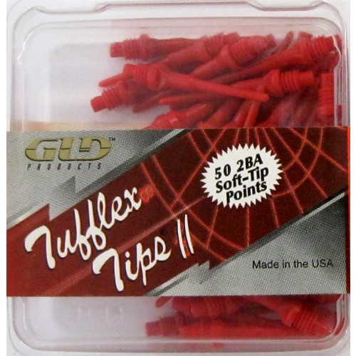 12-625 - Tufflex II Dart Tips 2BA - Red