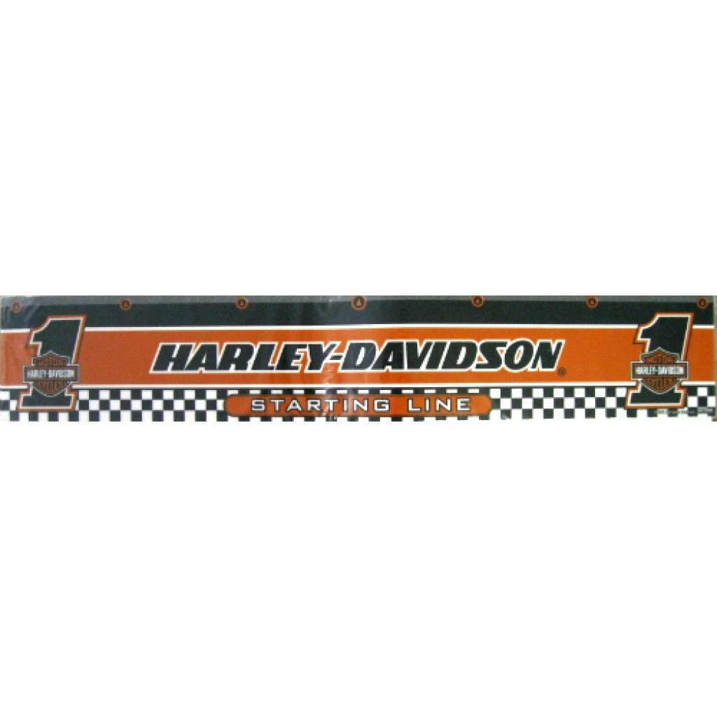 12-941 Harley Davidson Checkered Flag Dart Throw Line