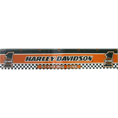 12-941 Harley Davidson Checkered Flag Dart Throw Line