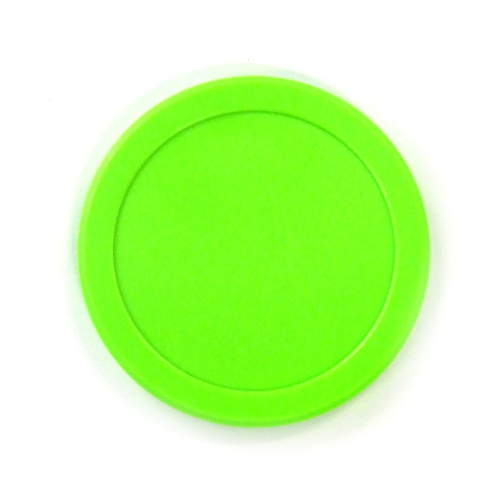 13-143 - Dynamo Home Fluorescent Green Puck
