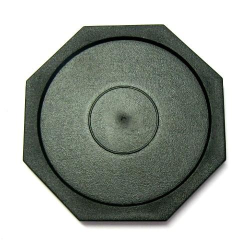 13-147 - Octagonal Home Puck - Black
