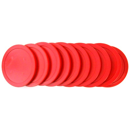 13-271s - Red Economy Commercial Puck Set of 10