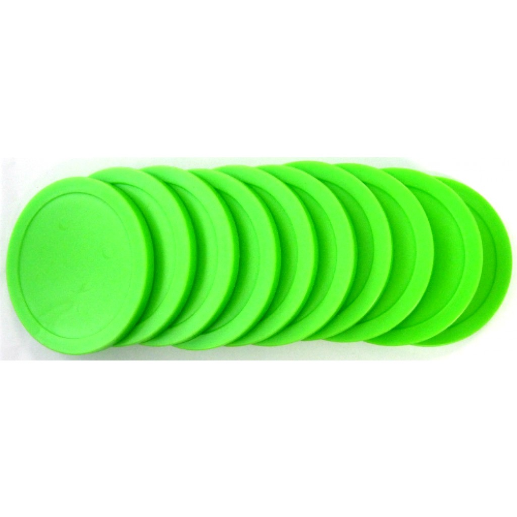 13-272 - Bright Lime Green Economy Commercial - Set of 10