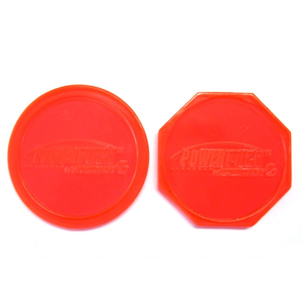 13-375s - Set of Power Pucks - 1 Octagonal 1 Round