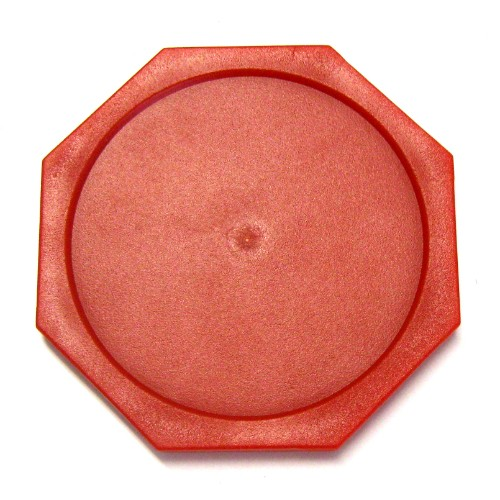 13-382 - Red Octagonal Puck