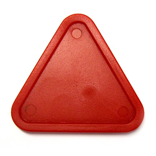 13-384 - Red Home Triangle Puck