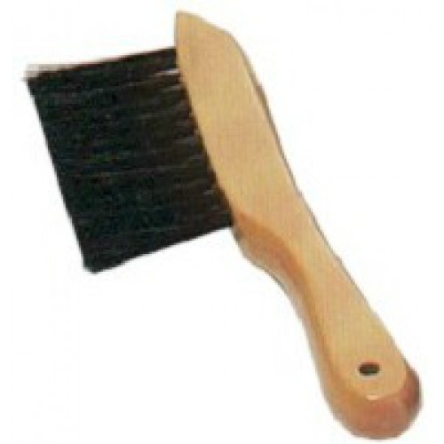15-313 - under-rail wood handle brush
