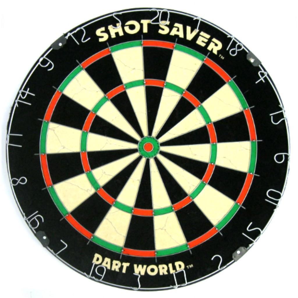 16-0121 - Shot Saver Steel Tip Bristle Dartboard