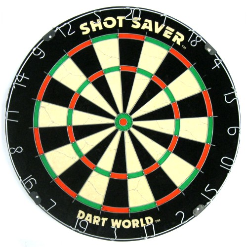 16-0121 - Shot Saver Steel Tip Bristle Dartboard