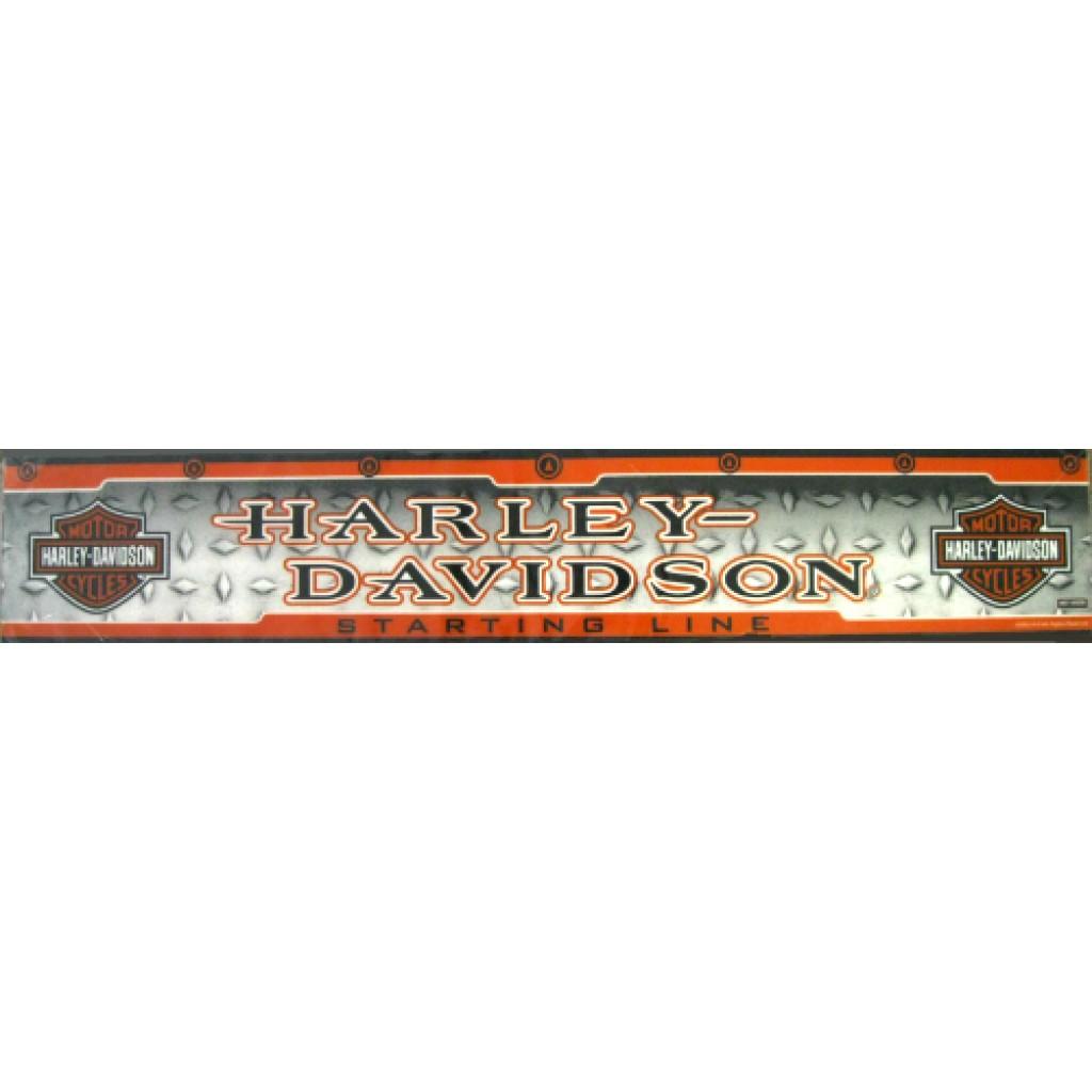 16-0259 - Harley Davidson Diamond Plate Dart Throw Line