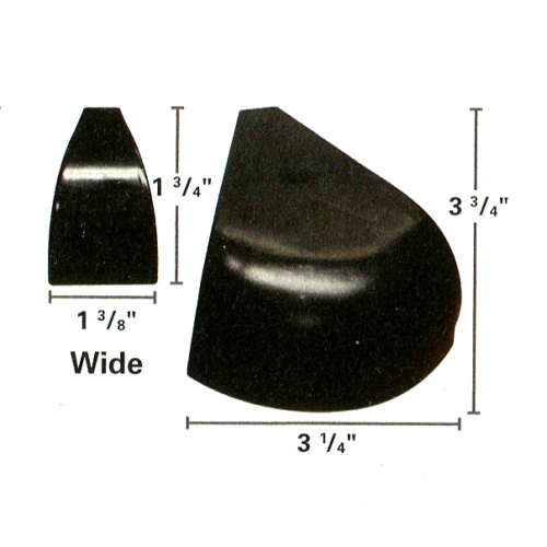 21-740 - Wide Cuemaster Rail Cap Set