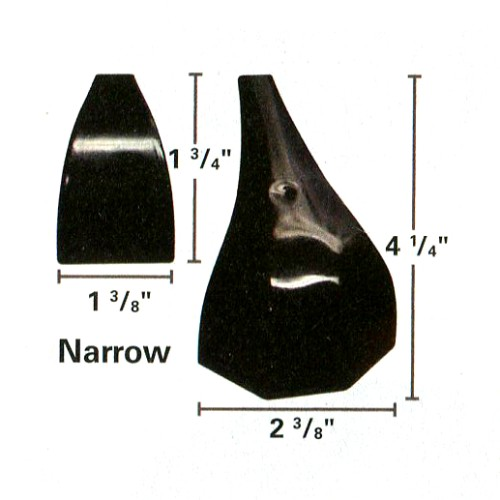 21-740n - Narrow Cue Master Rail Cap Set