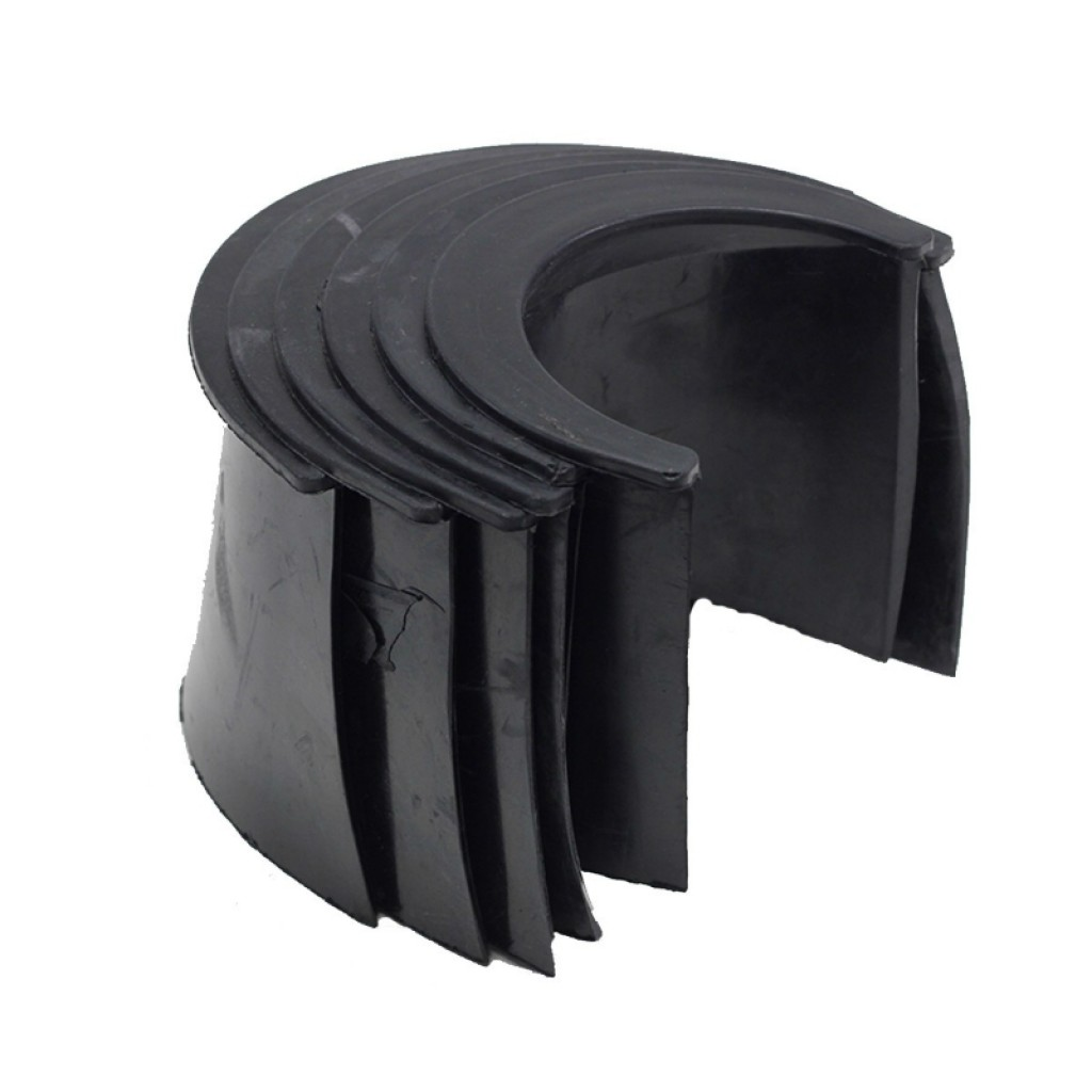 21-773RS - rubber pocket liners - 4 inch - set of 6