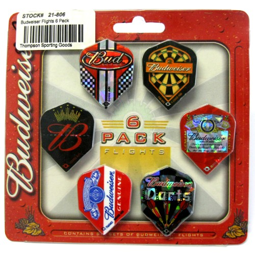 21-809 Budweiser Flights 6 set pack