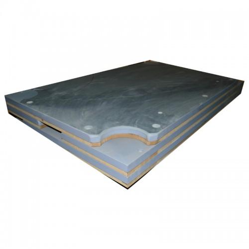 22-0140 - 3 pc slate 9 ft