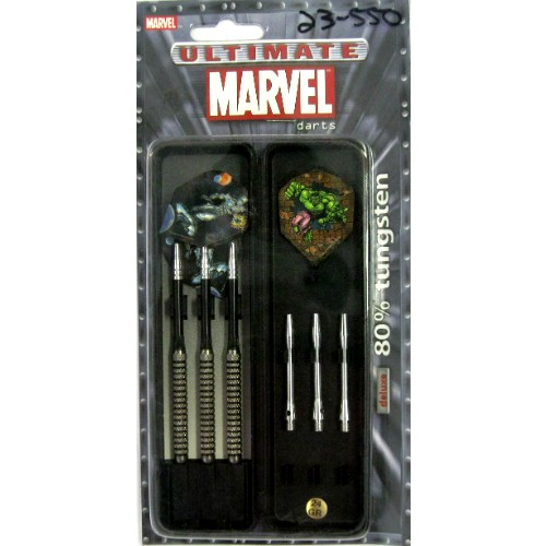 23-550 - Marvel Ultimate Steel Tip Tungsten Dart Deluxe