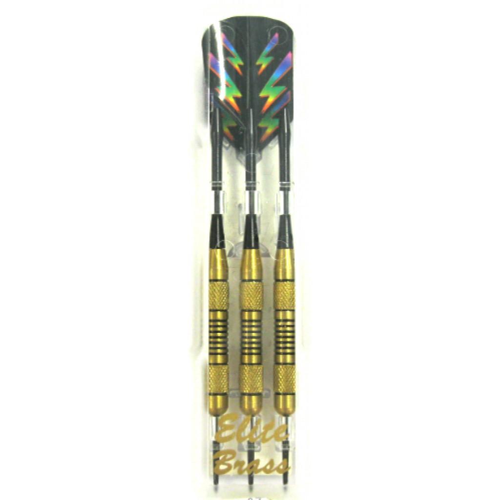 23-587 - Elite Brass Steel Tip Dart - 20g