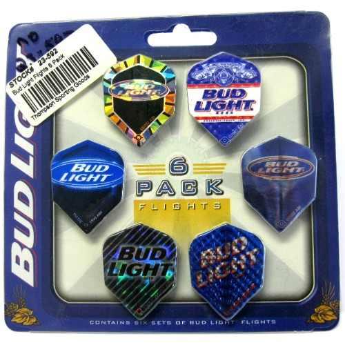 23-592 Bud Light Flights 6 set pack