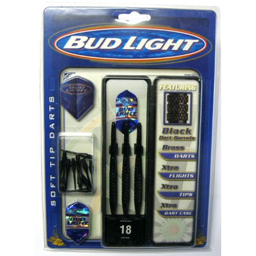 23-597 - Bud Light Soft Tip Darts 18 gr