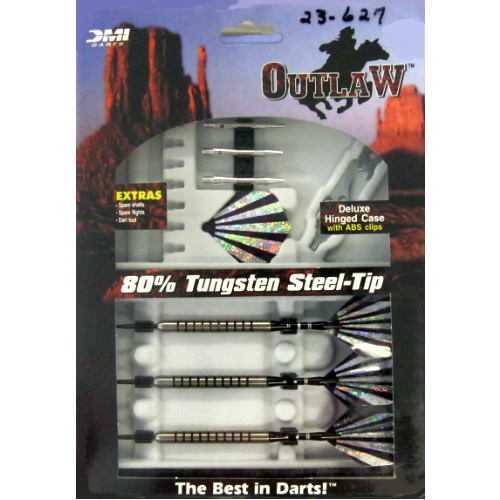 23-627 - Outlaw Steel Tip Darts 23g