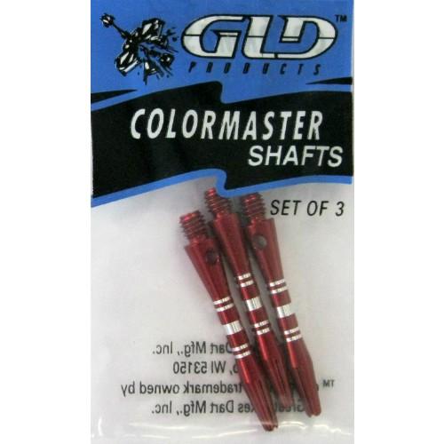 23-634 - Color Master Dart Shaft - Short - Red