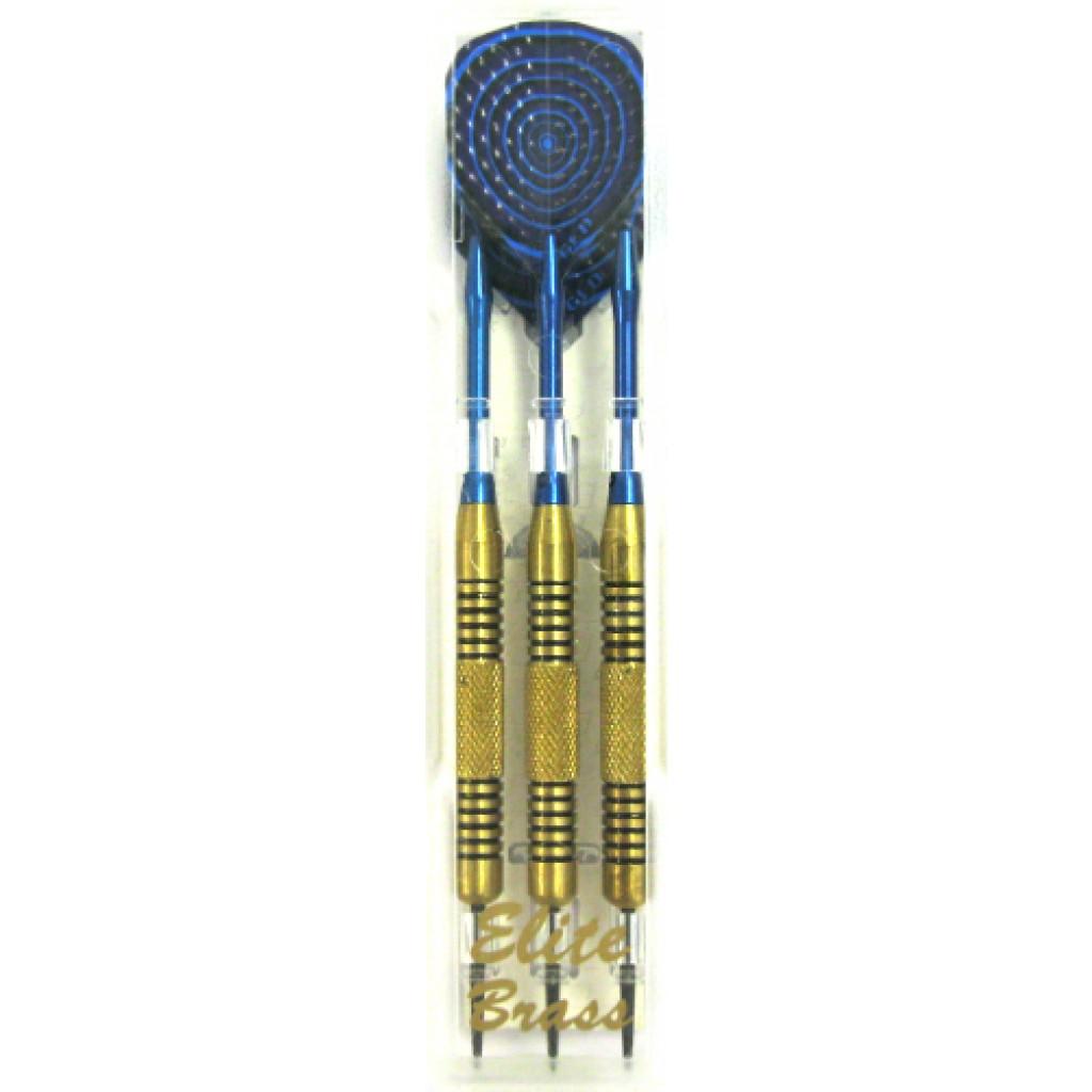 23-657 - Elite Brass Steel Tip Darts 22g