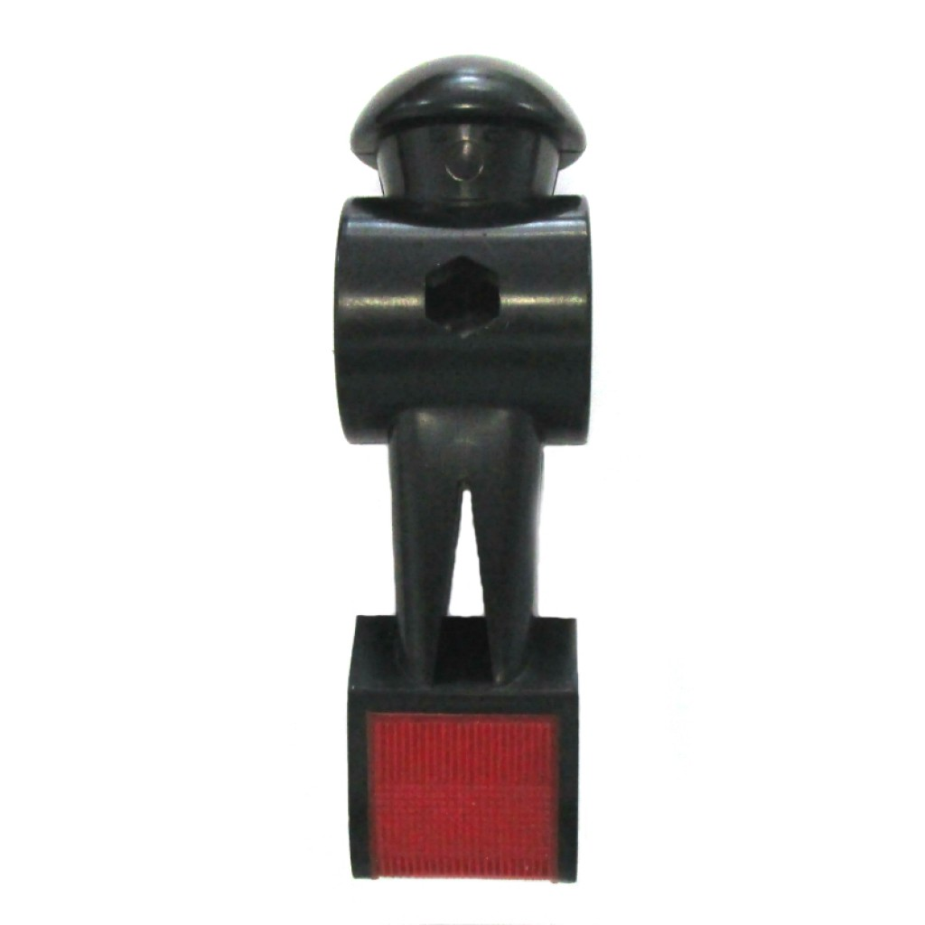 54-0217 - Black -Red Toe