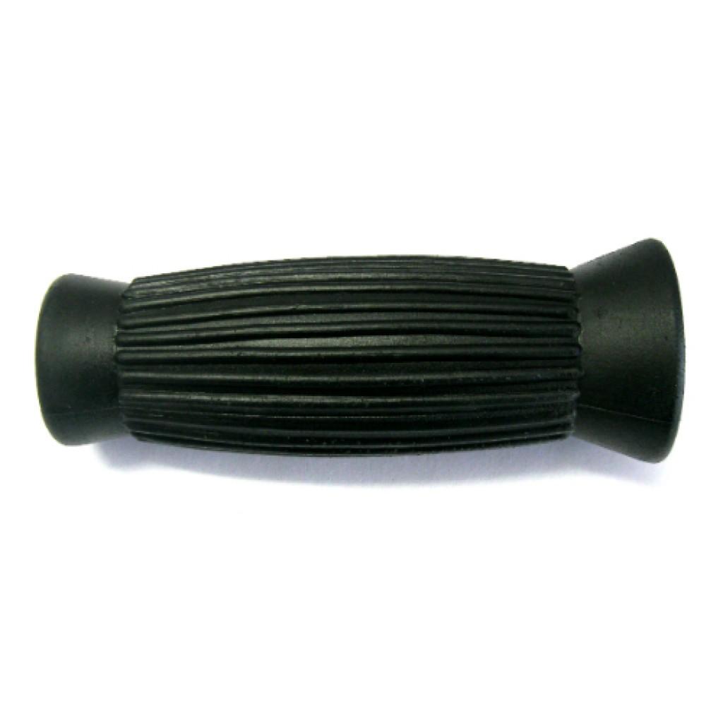 55-007 - Long Black Rubber Handle