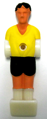 58-0349 - 1-2 inch Yellow Foosball Man