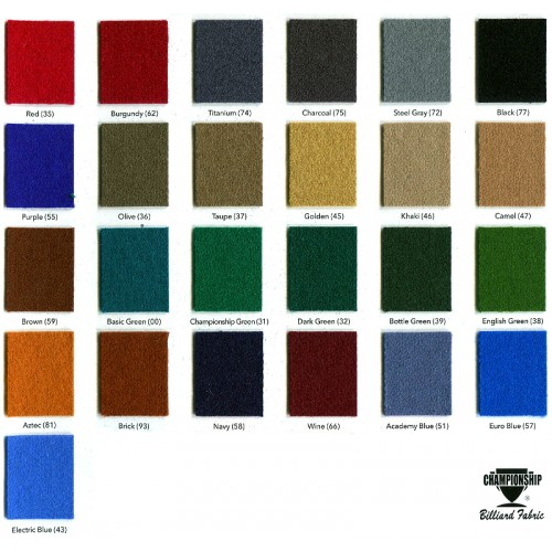Championship Fabric Colors - 4066