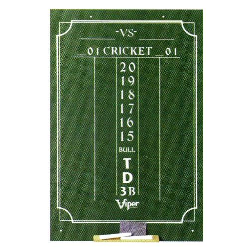 Cricket Chalk Dart Scoreboard