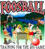 Foosball t-shirt - training