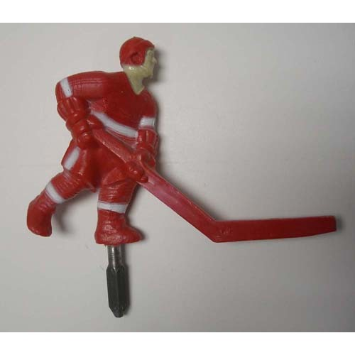 Super Chexx Russian Stick Hockey Player - short