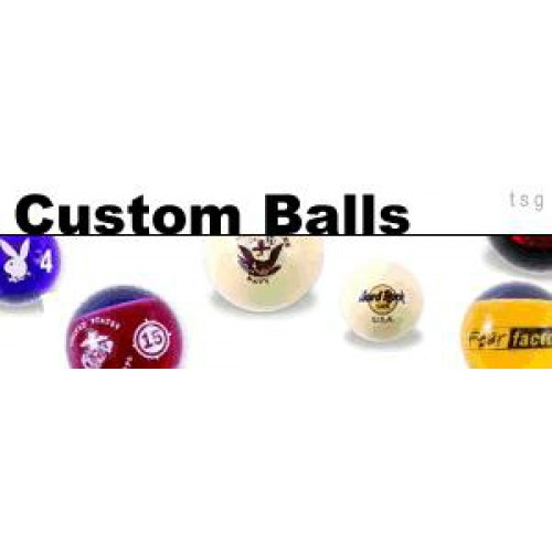custom billiard balls