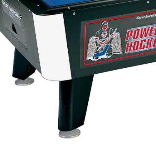 power hockey leg